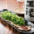 料理メニュー写真播州百日鶏の【ねぎどっか~ん】野乃鳥名物に認定されています