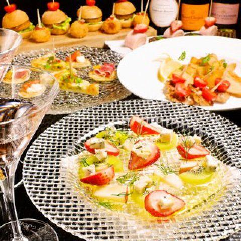 【M&W スタンダードプラン♪】◆3時間飲み放題(生ビール含む)◆お料理全9品◆4500円◆