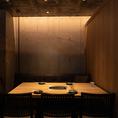 宴会、接待などに最適な6名様用個室もご用意。