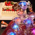 結婚式二次会特典♪世界にひとつだけボトル