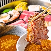 焼肉、すき焼き等食べ放題3400円(税込)~!