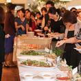 貸切パーティでは最大150名様の立食パーティが◎世界各地で話題の『シークレットホワイトパーティ』などのおしゃれな貸切パーティにもおすすめ☆