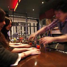 barを楽しむならやっぱりカウンター