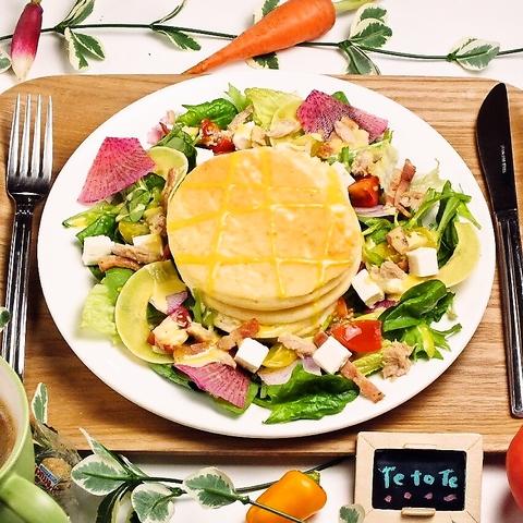 ヘルシーなお食事とゆったりとした空間で、皆様のカラダに『優しい!』をご提供♪