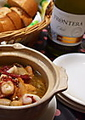 料理メニュー写真●海老のアヒージョ