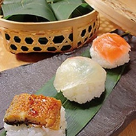お手土産の笹巻き寿司