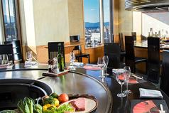 レンブラントホテル大分 山茶花の写真