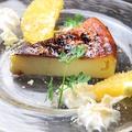 料理メニュー写真バスクドチーズケーキ