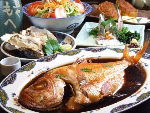 鮮魚を使用した『煮魚・刺身・創作料理』を下町の雰囲気orゆっくり掘りごたつで…