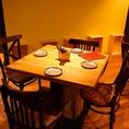 2名様~大人数様まで対応可能なテーブル席
