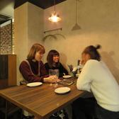 ハイチェアテーブルはカジュアルな雰囲気がウリです♪お洒落な照明もGOOD☆(栄/バル/チーズ/韓国/タピオカ)