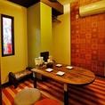 〈ワイワイ個室〉2~4名様まで アットホームな雰囲気で楽しめる座敷個室。禁煙です。