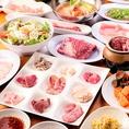 【食べ放題が3278円(税込)~】当店自慢のお肉を満喫するなら、プレミアムコースがオススメ!! 肉寿司やステーキも食べ放題の質、種類ともにプレミアムな内容となっております◎