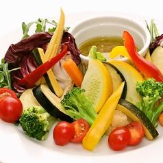 ナポリ最古のソースで味わう伊野菜バーニャカウダ