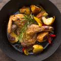 料理メニュー写真チキンの窯焼きロースト
