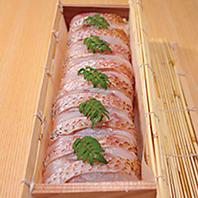 お手土産の棒寿司