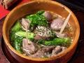 料理メニュー写真砂肝のアヒージョ/鶏モモのアヒージョ