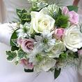 結婚式二次会は無料で花束用意♪