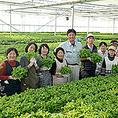 宮城野区蒲生 株式会社みちさきの菊地社長と皆様