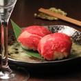 【コース一例】阿蘇あか牛の炙り手まり寿司