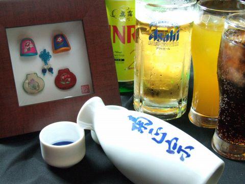 飲み放題付きコースなら、生ビールやジンロが好きなだけ飲める!宴会幹事さんは必見のラインナップです!
