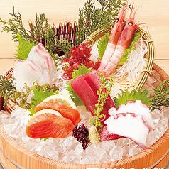 料理メニュー写真磯盛り(5種盛り)