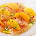 料理メニュー写真ノルウェー産サーモンのマリネ