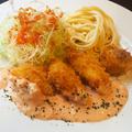 料理メニュー写真白身魚フライ