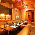 ◆ 貸切個室 最大36名様までご案内可能の宴会場。