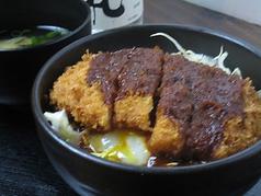料理メニュー写真≪三元豚≫デミカツ丼/味噌カツ丼/とじカツ丼