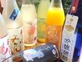 あらごしシリーズや子宝シリーズなど果実酒が豊富★飲みやすいお酒で女性も気軽に愉しめる♪
