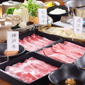 料理メニュー写真三大和牛ロース定食