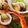 料理メニュー写真土佐の珍味盛り (どろめ、チャンバラ、川海老、酒盗)