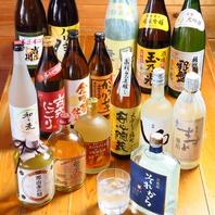 <こだわり>本格焼酎・日本酒勢揃い