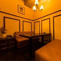 限定1室の個室!予約必須の人気席です!別途2000円です