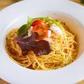 料理メニュー写真トマトシーフードパスタ