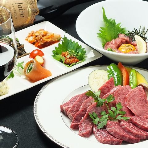 全部位を店長自ら味見し、その日のうまいお肉だけを提供されるこだわりの飛騨牛焼肉店