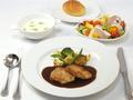 料理メニュー写真季節の食材を使用した特製ランチ