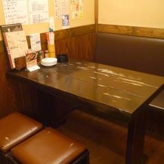 <4名様テーブル×5卓>ございます。テーブルをくっつけて最大15名様までご案内可◎