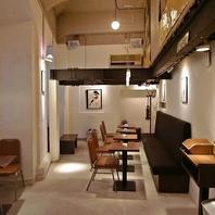 茶屋町の隠れ家カフェ