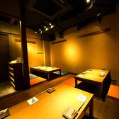 ●3名・4名・6名用の掘りごたつ。旬の素材と日本酒を存分に楽しめる