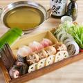 料理メニュー写真天然クエの美酒鍋(一人前)