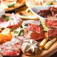 【肉プレート♪】肉料理にワインは欠かせませんね♪