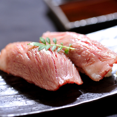 牛トロ炙りにぎり (極上霜降り)(数量限定)
