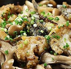 料理メニュー写真つぶ貝のにんにく炒め
