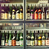 各地の地酒20種類をリーズナブルに390円~!ご提供。