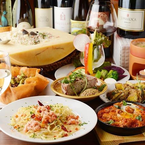 所沢で本格イタリアン♪こだわりのワインとパスタが自慢のお店です!