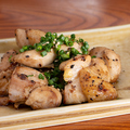 料理メニュー写真当店の看板!銘柄鶏の炙り焼き