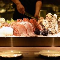 オススメの海鮮素材を様々な調理法でご賞味下さい★