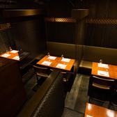 使い勝手抜群!なテーブル席♪2~14名様まで人数に合わせてレイアウト出来ます!お気軽にご相談ください。